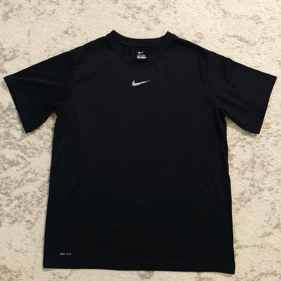 ed36a635123af Nike Tops | Black Womens Drifit Athletic Gym Tshirt | Poshmark